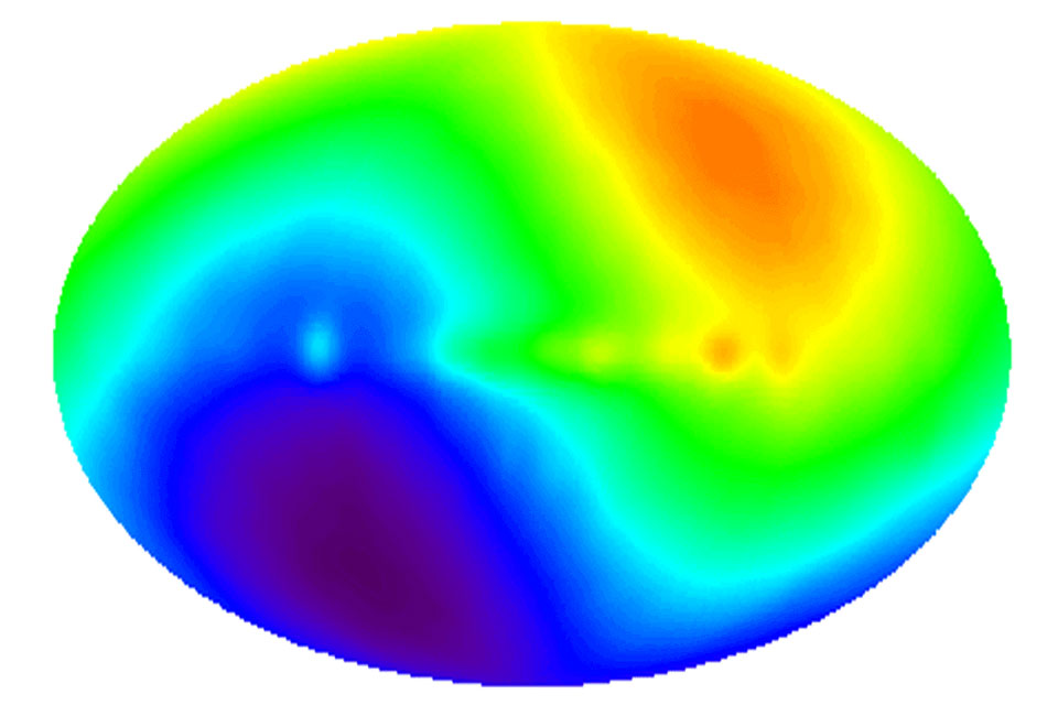 Cosmic Microwave Background Varies